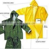 PVC raincoats/Yellow/Blue/Green/Black ladies pvc raincoats/pvc clear plastic raincoats/ladies in plastic raincoats