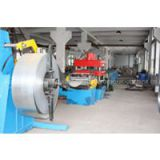 Steel silo uprights Roll Forming Machine