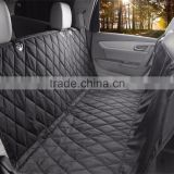 Direct Factory Price High quality nylon pu coating with quilted Pet Car Seat Cover
