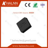Milling Engine Block with gray cast iron materials use BN-S300 Solid CBN Insert from Halnn