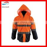 winter uniforms best quality uniform/high visibility winter work jacket