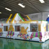 Hot Sale Pig Inflatable Playground,Inflatable Amusement Park,Inflatable Fun City For Kids