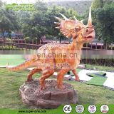 Frp Dinosaur Sculpture for Golf Course Decoration