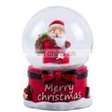Resin Snow Glass Ball Santa Claus Decorative Gift