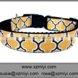 New arrivel colorful nylon dog collar and leash