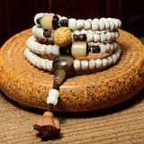 Diayam Zi on the high-density Bodhi hand barrel bead Wooden Bead Necklace Jewelry Bracelet beads lotus 108