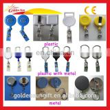 Retractable Plastic ID YoYo Name Badge Reel Holder