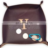 Embroider Leather Tray
