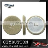 (FB016) flat back covered buttons