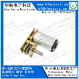 High Precision Gear DC Gear Motor 24mm Diameter Printer / Paper Feeder Use GM1024-N30VA