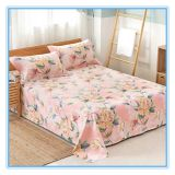 100% polyester bed sheet /quilt cover printed fabric polyester textile microfiber fabric in rolls