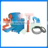 10seconds cutting efficiency scrap tire sidewall cutting 3pcs machine/3pcs tyre sidewall cutter