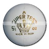 Hand Made Center White Stitching Cricket Ball