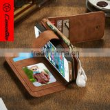 Leather Material for iphone 6 wallet case,china supplier wallet design for iphone 6 case