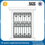 House decor euopean common design wrought iron window grill                                                                         Quality Choice