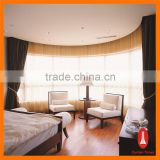 Curtain Times competitive price hotel quality blackout curtain with electric control system