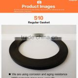 Sanitary Wholesale Bathroom Sink Accessories Gasket Silicone Water Seal Steel Ring(S10)