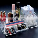 2013 fantastic clear acrylic makeup organizer with drawer