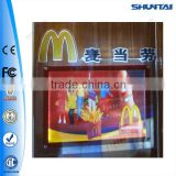 advertising LED backlit wall mounted poster frames