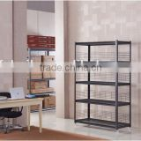 Removable steel shelves boltless shelving