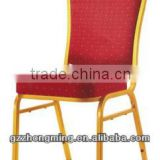 Modern Fabric Stacking Banquet Hotel Chair Hotel Chairs Furniture/Steel Frame Cheap Banquet Chair D-001