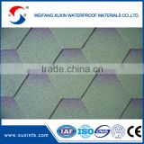 Cheap building material low cost asphalt roof tile