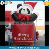 2015 New inflatable bear cartoon,inflatable Christmas bear,inflatable christmas polar bear