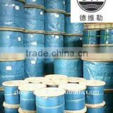 Galvanized steel wire rope 7x19 1x7 1x19 7x7 with high quality