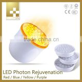 New arrival color therapy device/led light therapy skin tightening machine/led facial machine