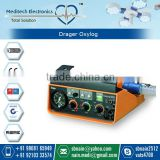Drager Oxylog 1000 for First Aid Ventilation of Patient in Emergency Situation