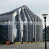beautiful prefab steel structure exhibition hall