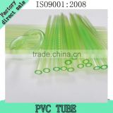 Semi-transparent PVC flexible tube hose for Luminescent fiber