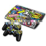 Stickerboom Design Skin Sticker For Sony Playstation 3 Super Slim For PS3 Slim 4000 Console 2 Controllers Skin