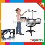 Kids jazz music drum toy,Toy musical instrument Young Drummer Girl Kids Samll jazz toy drum