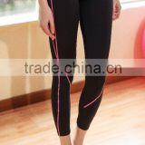 Gym wear pants polyester/spandex womens custom yoga pants                                                                                                         Supplier's Choice