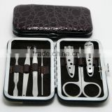 NEW 1SET(7pcs) Nail Care Manicure Pedicure Set Travel Grooming Kit Tool Gift