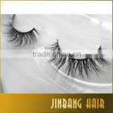 2016 New Style Hot sell high quality horse fur eyelashes crossing mink eyelashes 3D mink lashes