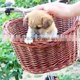 Hot sale New Decoration Gifts Arts Willow Baskets Wicker Bicycle Baskets