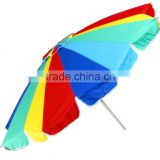 High performance promotional beach umbrella with 360 degree tilt (Social Audit and BSCI factory)