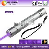 200mw 405nm violet purple blue burning laser pointer with rechargeable battery and charger