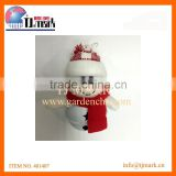 LOVELY CHRISTMAS SNOWNAN DOLLS WITH TINKLE BELL