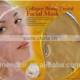 Mendior Natural Gold facial mask beauty anti-aging anti wrinkle crystal collagen face mask Wholesale and support OEM