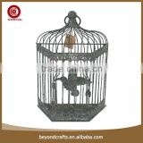 Imitate shabby style decorative iron sing bird cage
