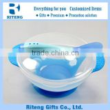 Plastic Spill Proof Baby Bowl Food Suction In Stock