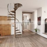 prefabricated metal used spiral stairs/save space spiral staircase