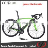 Hot!!! DIY carbon road bike frame DI2 groupset carbon road bicyle customized frame and wheelset