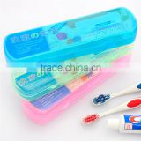 Plastic Toothpaste & Toothbrush Case, Trval Plastic Toothbrush and Toothpaste Case, Convenient Plastic Toothbrush Box