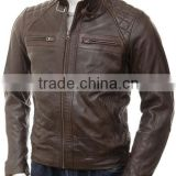 EM manufacture winter clothing customized outdoor down coat men leather jacket,winter apparel