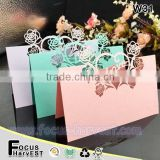 W31 Laser wedding card place card Love flower Holder Table Seat Card for Wedding                                                                         Quality Choice