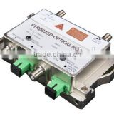 Mini bi-directional optical node receiver/transmitter for FTTH, CATV and HFC